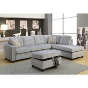 BELVILLE GRAY SECTIONAL SOFA Product Image