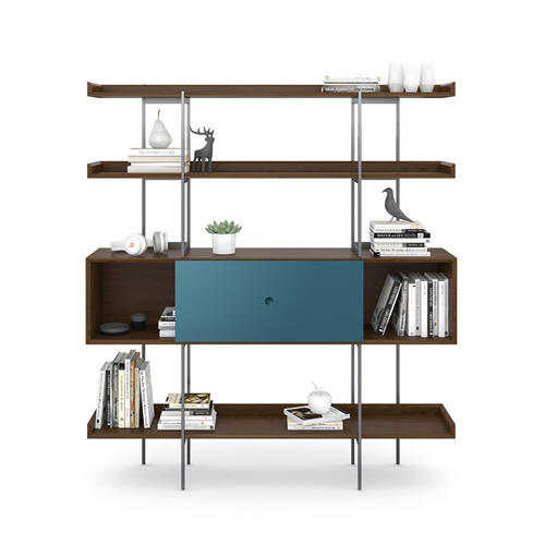 5201 Shelf in Toasted Walnut Marine