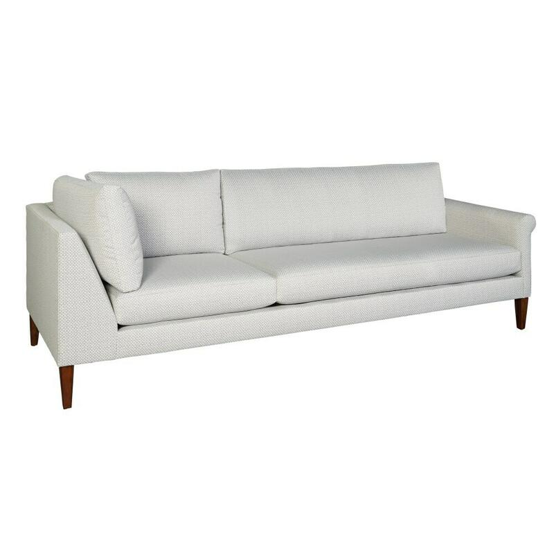 174290 Metro Rolled Arm Corner Sofa RAF