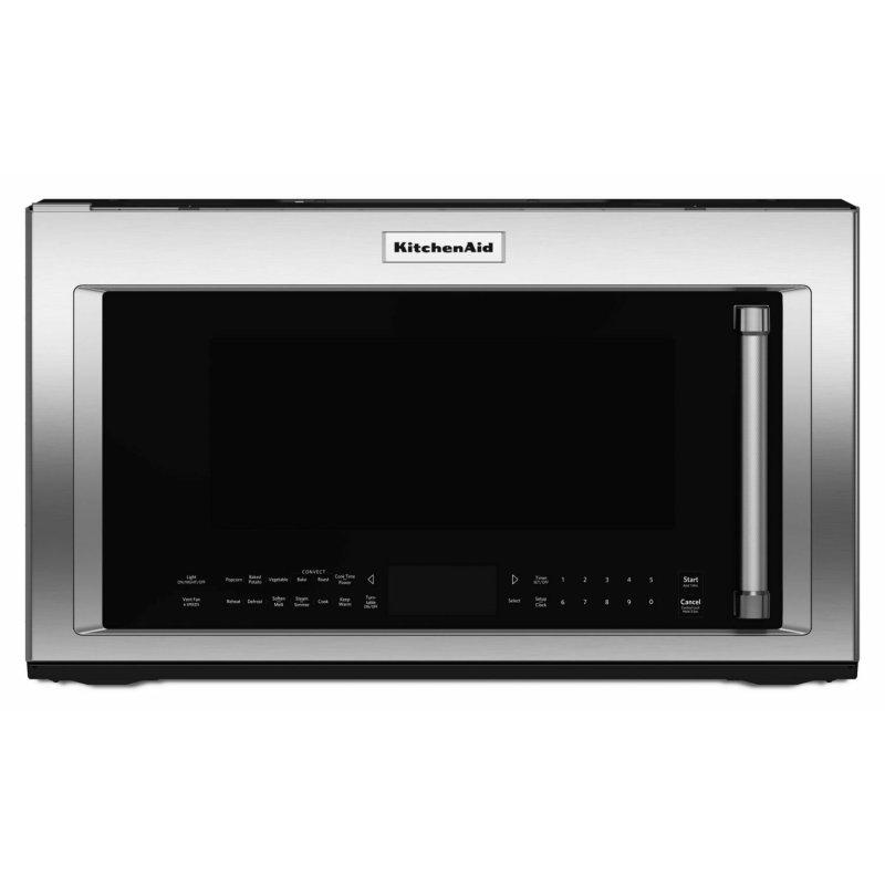 """30"""" 1000-Watt Microwave Hood Combination with Convection Cooking - Stainless Steel"""
