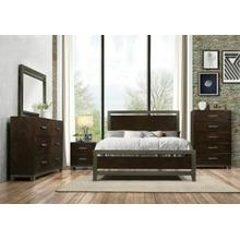 ACME Charleen Queen Bed - 26680Q - Walnut