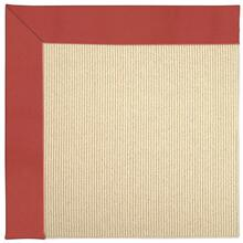 "Creative Concepts-Beach Sisal Canvas Paprika - Rectangle - 24"" x 36"""