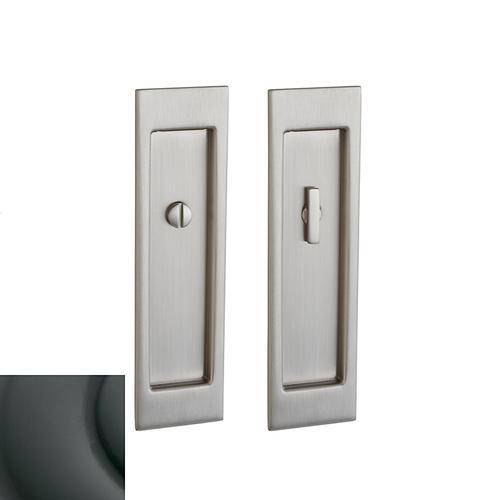 Baldwin - Oil-Rubbed Bronze PD005 Large Santa Monica Pocket Door