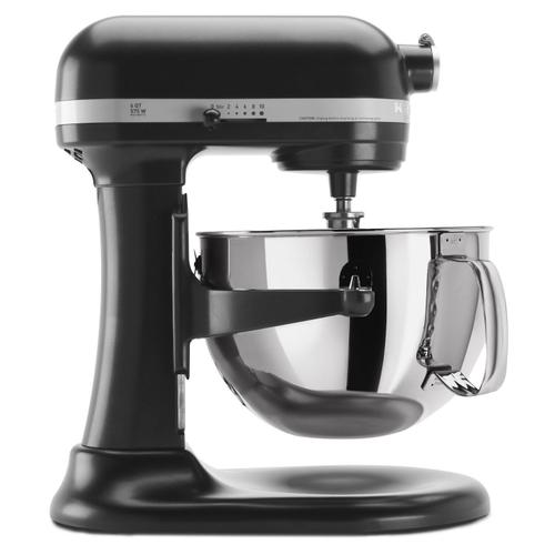 Pro 600 Series 6 Quart Bowl-Lift Stand Mixer Licorice