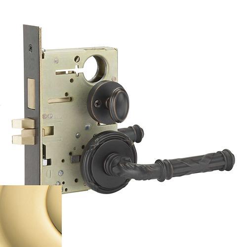 Baldwin - Polished Brass Fenwick Sectional Privacy Set