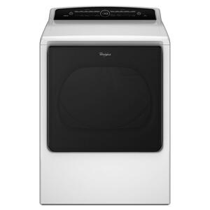 Whirlpool8.8 cu.ft Top Load HE Gas Dryer with Advanced Moisture Sensing, Intuitive Touch Controls White