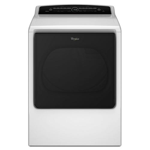 8.8 cu.ft Top Load HE Gas Dryer with Advanced Moisture Sensing, Intuitive Touch Controls White