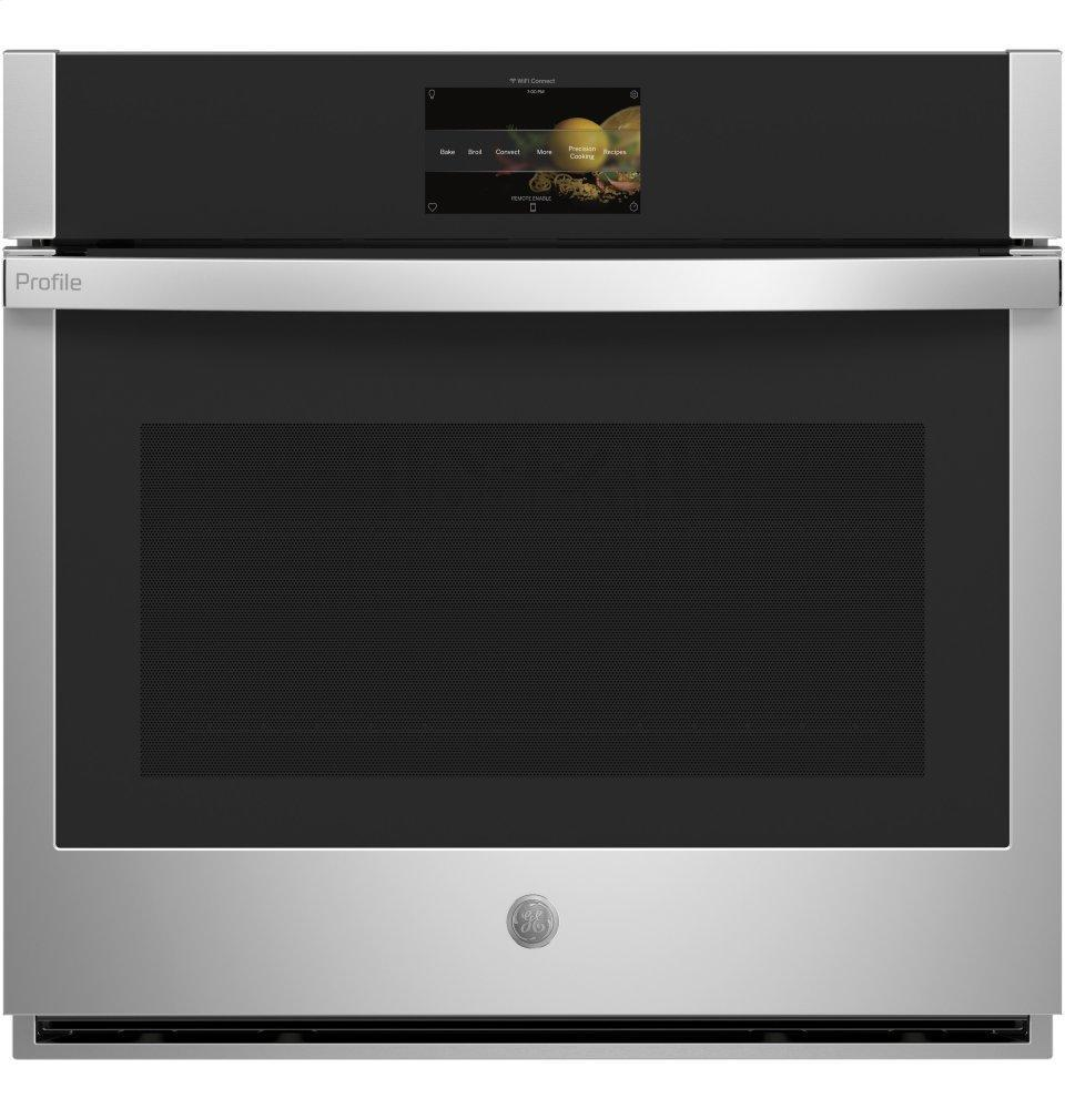 """GE ProfileGe Profile™ 30"""" Smart Built-In Convection Single Wall Oven With In-Oven Camera And No Preheat Air Fry"""