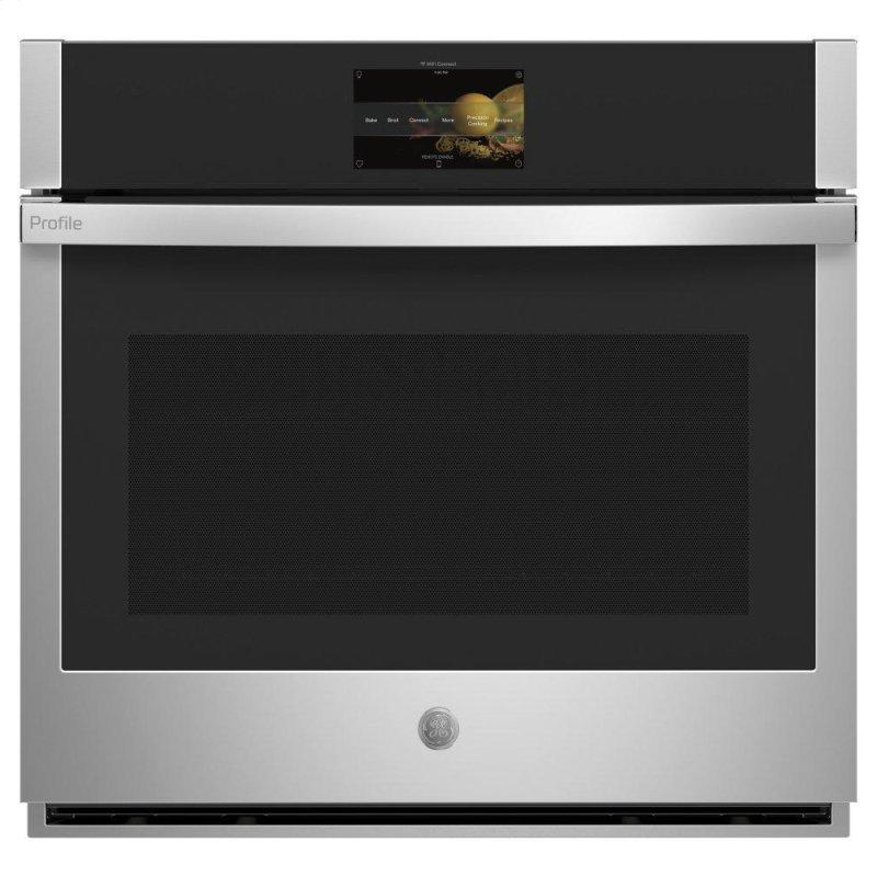 """GE Profile™ 30"""" Smart Built-In Convection Single Wall Oven with In-Oven Camera and No Preheat Air Fry"""