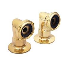 "2"" Faucet Elbows - Polished Brass"