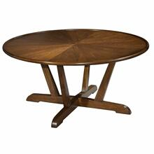 See Details - 951302MW Mid Century Modern Round Coffee Table
