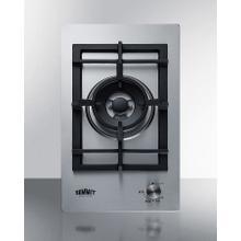 "See Details - 12"" Wide 1-burner Gas Cooktop In Stainless Steel"