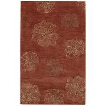 Graphique-Hibiscus Henna Hand Tufted Rugs