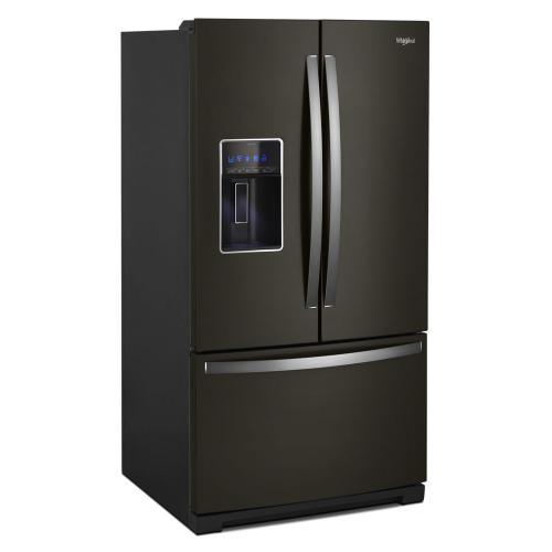 Whirlpool - 36-inch Wide French Door Refrigerator - 27 cu. ft.