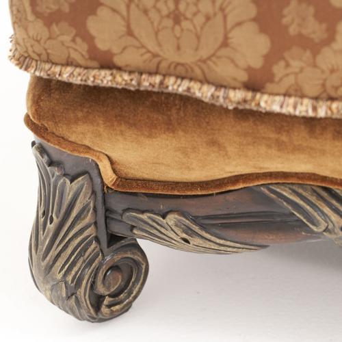 Chair 1/2 Ottoman