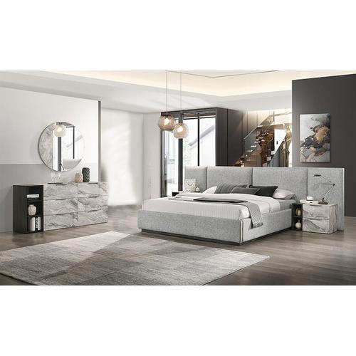 VIG Furniture - Nova Domus Maranello - Modern Grey Bed Set