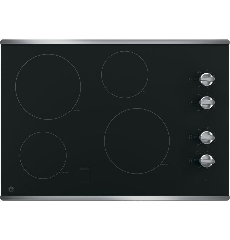 """GEGe® 30"""" Built-In Knob Control Electric Cooktop"""