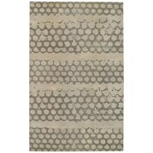 Honeycombs Fog Hand Tufted Rugs