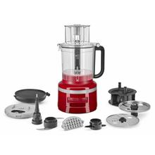 See Details - 13-Cup Food Processor with Dicing Kit - Empire Red