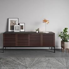 Sv 7129 Quad Media Console Credenza in Environmental