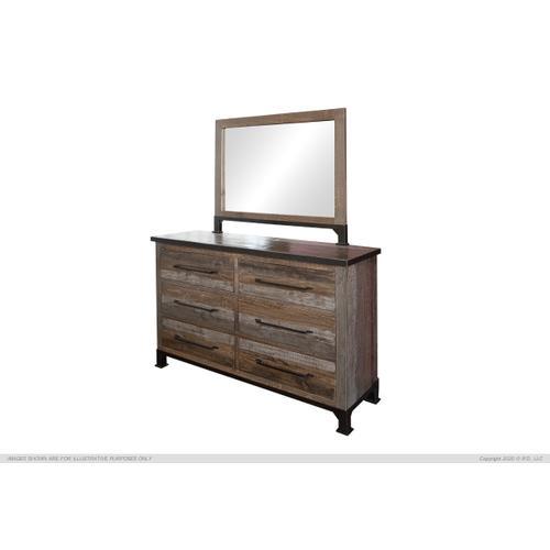 6 Drawers Dresser