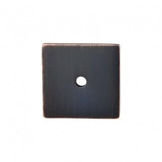 Square Backplate 1 1/4 Inch - Tuscan Bronze