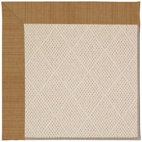 Creative Concepts-White Wicker Dupione Caramel Machine Tufted Rugs
