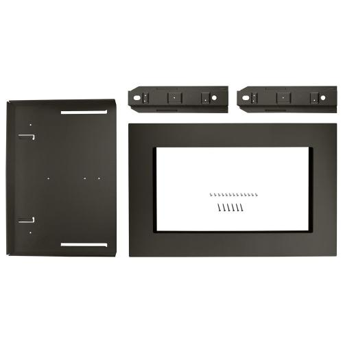"""Whirlpool - 27"""" Trim Kit for 1.5 cu. ft. Countertop Microwave Oven with Convection Cooking"""