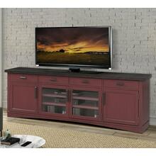 AMERICANA MODERN - CRANBERRY 92 in. TV Console