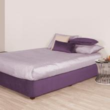 See Details - Twin Boxspring Cover Bella Eggplant (Cover Only)