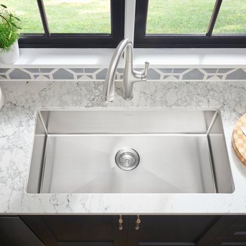 American Standard - Pekoe 35x18-inch Stainless Steel Kitchen Sink  American Standard - Stainless Steel