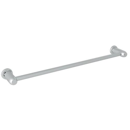 Holborn Wall Mount 24 Inch Single Towel Bar - Polished Chrome