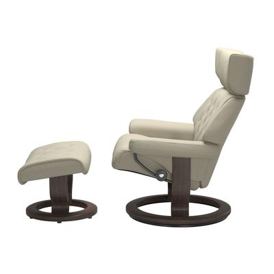 See Details - Stressless® Skyline (S) Classic chair with footstool