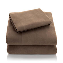 See Details - Portuguese Flannel Queen Pillowcase Coffee