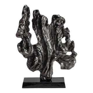Coral Sculpture Large Black Nickel