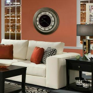 See Details - Howard Miller Kennesaw Oversized Wall Clock 625526