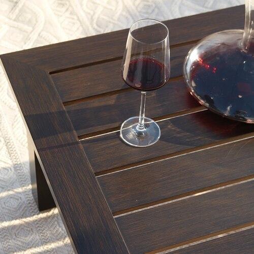 Aluminum Farm Tables Rectangular Cocktail Table