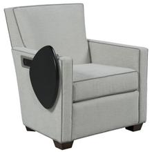 View Product - Craven Lounge Chair with Left Side Facing Tablet and Charging Station