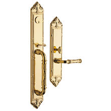 Lifetime Polished Brass Edinburgh Entrance Trim