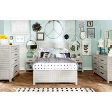 Summer Camp - White Panel Bed, Full