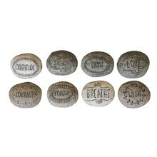 """View Product - 2-3/4""""L Resin Inspirational Stone, 8 Styles"""