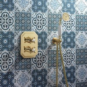 Belgravia Handshower Set - Unlacquered Brass