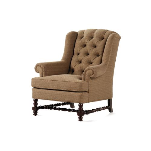 632-T RONSON TUFTED WING CHAIR