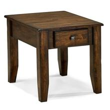 Kona End Table  Raisin