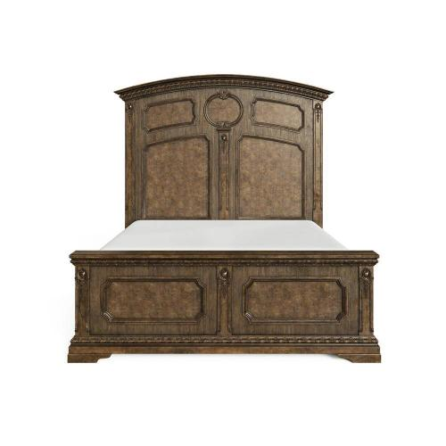Thoroughbred Chamber Panel Bed - Toast / California King