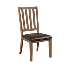 Carlton Slat Back Side Chair 2pc