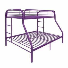 ACME Tritan Twin/Full Bunk Bed - 02053PU - Purple
