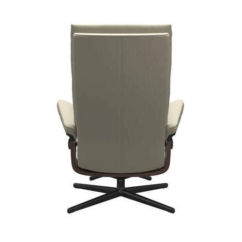 Stressless By Ekornes - Stressless® Aura (M) Cross Chair with Ottoman