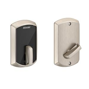 Schlage Control Smart Deadbolt with Greenwich Trim - Satin Nickel Product Image