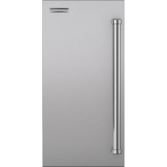 """Sub-Zero - 18"""" Stainless Door Panel with Pro Handle"""